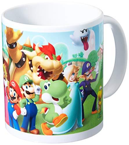 Super Mario MG24481 (Mushroom Kingdom) Mug, Céramique, Multicolore, 11oz/315ml