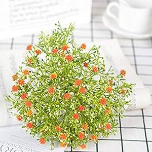 Artificial and Dried Flower Artificial Silk Gypsophila Fake Flower Bouquet Home Wedding Living Room Decor