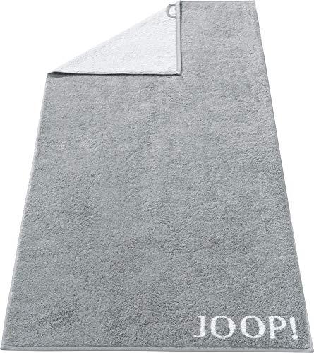 Joop! Handtuch Classic Doubleface 1600 | 76 Silber - 50 x 100