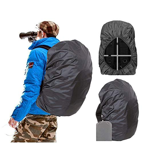 Joy Walker Backpack Rain Cover Waterproof Breathable Suitable for Hiking/Camping/Traveling(for 40-55L Backpack)