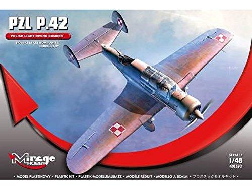 Mirage Hobby 481320 PZL P.42 Polish Light Diving Bomber