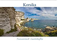 Korsika - Faszinierende Landschaften (Wandkalender 2022 DIN A2 quer): Korsika ist immer eine Reise wert. (Monatskalender, 14 Seiten )