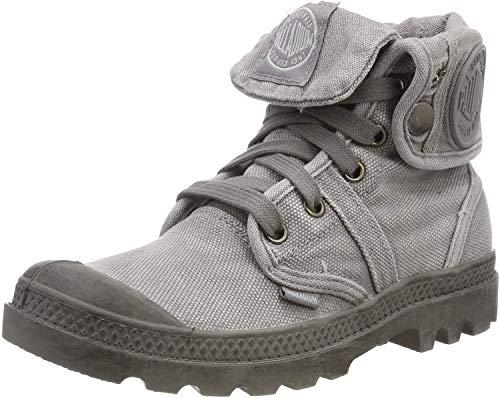 Palladium Damen Us Baggy W F Hohe Sneaker,Grau (Titanium/High Rise 174), 40 EU