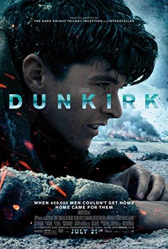 MBPOSTERS Dunkirk 2017 Nolan Movie Poster, Film Plakat Print