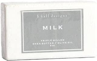 K. Hall Designs Milled Shea Soap 8 oz. Set of 6 - Milk