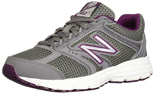 New Balance Women's 460v2 Cushioning Running Shoe, Grey, 8 B US
