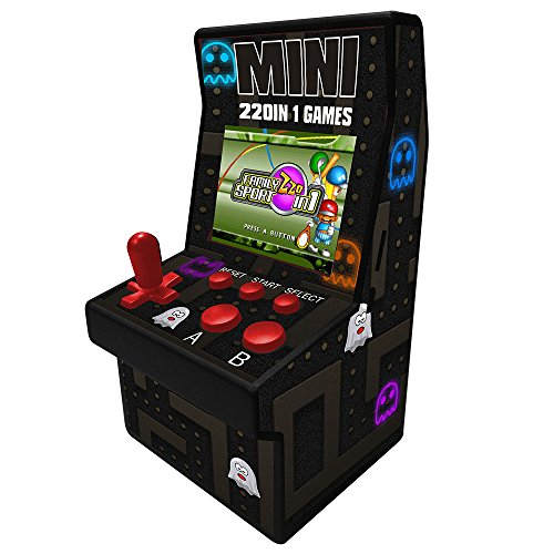 Goolsky Riproduttore Video palmare a 16 Bit Mini Classic Arcade Game Machine con Giochi incorporati 220 Giochi Portatili novità Giocattoli elettronici