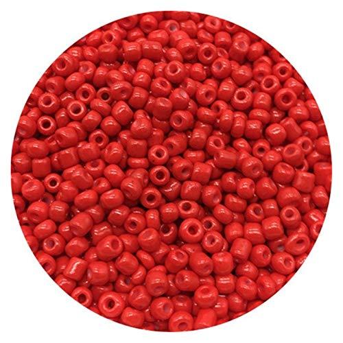ZITENG CGBH Bolas de Semillas 200pcs 4 mm Checa Encanto de Cristal Pulsera de los Granos DIY de la Pulsera del Collar for Las Pulseras joyería Que Hace Bricolaje Pendiente del Collar (Color : 22)
