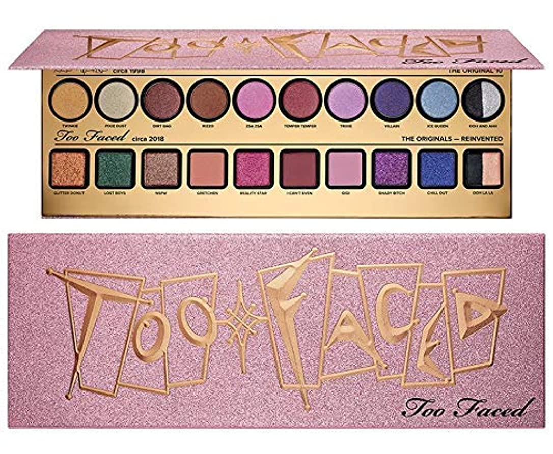 リレー着陸服を着るToo FacedThen & Now Eyeshadow Palette - Cheers to 20 Years Collection [並行輸入品]