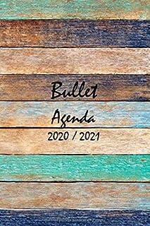 Bullet agenda semainier 2020 2021: Agenda planificateur semainier 2020 2021