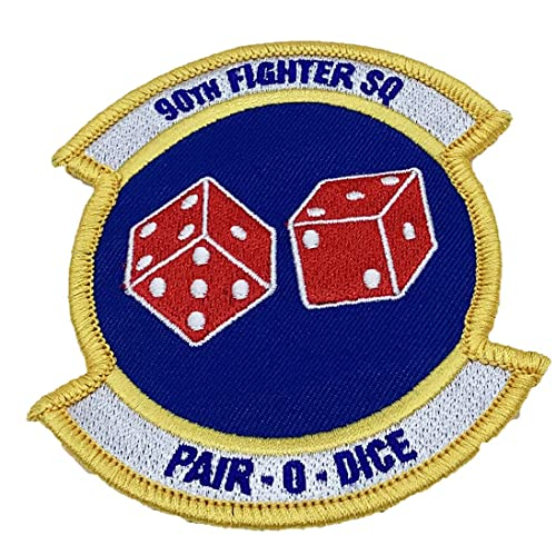 90th Fighter Squadron Patch – Plastic Backing