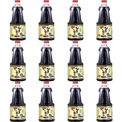 【セット品】アサムラサキ かき醤油 1000ml×12本