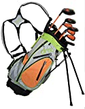 Droc - Noa Series 7 Pieces Left Handed Golf Club Set and Golf Bag Ages 5-8 Boys Left Handed