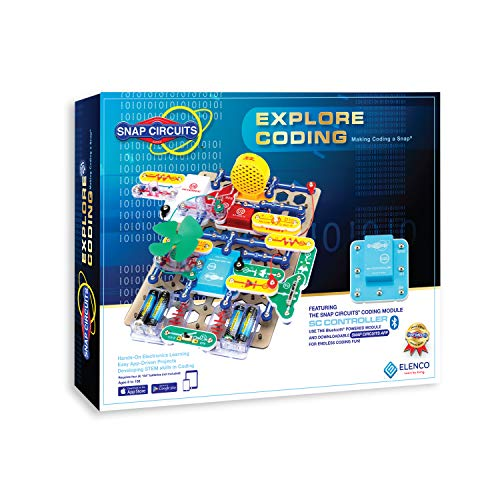 Snap Circuits Elenco Explore Coding Toy for Kids Ages 8 and Up