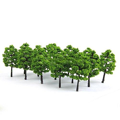 tianxiangjjeu 20 Model Boom Miniatuur Tuin Ornamenten Park Landschap Landschap Groene Planten Decor multi