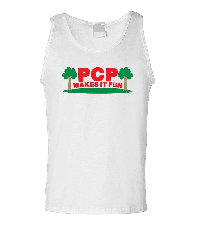 PCP Makes It Fun?–?Funny公園ショージョーク?–?メンズタンクトップ
