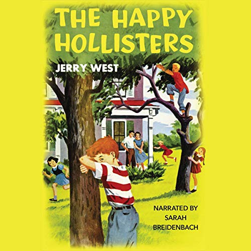 The Happy Hollisters audiobook cover art