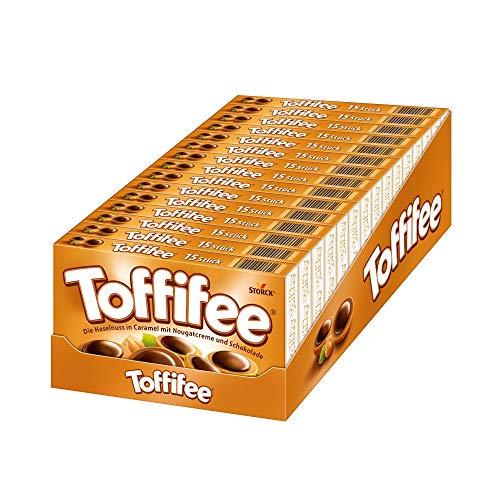 Toffifee (15 x 125g) / Haselnuss in Karamell, Nougatcreme und Schokolade