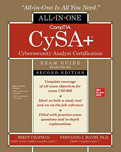 CompTIA CySA+ Cybersecurity Analyst Certification All-in-One Exam Guide, Second Edition (Exam CS0-002)