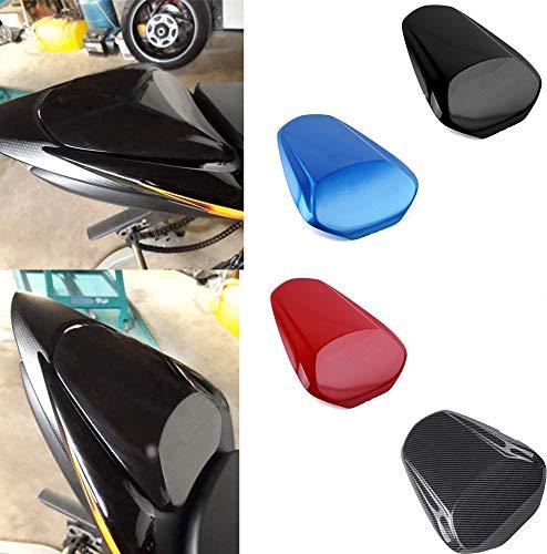 Lorababer Motorrad GSXS1000 GSXS1000F Fondpassagier Sozius Schwanzabschnitt Sitzhaube Hart ABS-Verkleidungsabdeckung für 2015-2020 Suzuki GSX-S 1000 1000F 2016 2017 2018 2019 (Schwarz)