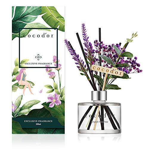 Cocod'or Lavender Reed Diffuser/English Pearfree / 6.7oz(200ml) / 1 Pack/Home Decor & Office Decor, Fragrance and Gifts
