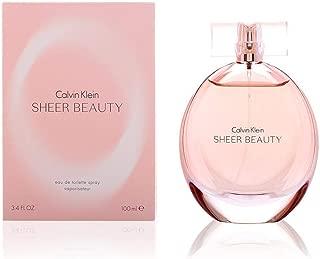 Calvin Klein Sheer Beauty for Women, 3.4 oz EDT Spray