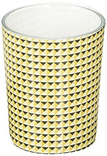 Modern grafisch ontwerp Glas kaars votive houder in goud