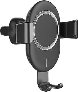 Gravity-Sensing mobilhållare Air Outlet Car trådlös laddare för iPhone, Samsung, Huawei, Sony, Htc,Black