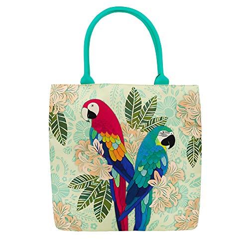 AMAZON LOVE Tote Bag - Bolsa de almacenaje, color verde
