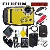 Fujifilm FinePix XP140 Waterproof Digital Camera 600020657 (Yellow)...
