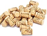 "Enkrio #9 Wine Corks Straight Cork Natural Wine Stoppers for Bottling of Wines or Crafting & Decor 1-3/4"" x 15/16"" (Pack of 100)"