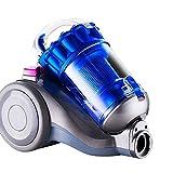 Lpiotyuxcq aspirateur sans Sac Aspirateur d'aspirateur pour boîte 2600W sans aspirateur d'aspiration d'aspiration de Haute Puissance Galvanisation de l'aspirateur d'aspiration (Color : Blue)