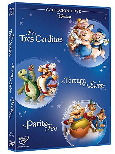 Pack: Fabulas 3 Cerditos + El Patito Feo + La Liebre Y La Tortuga [DVD]