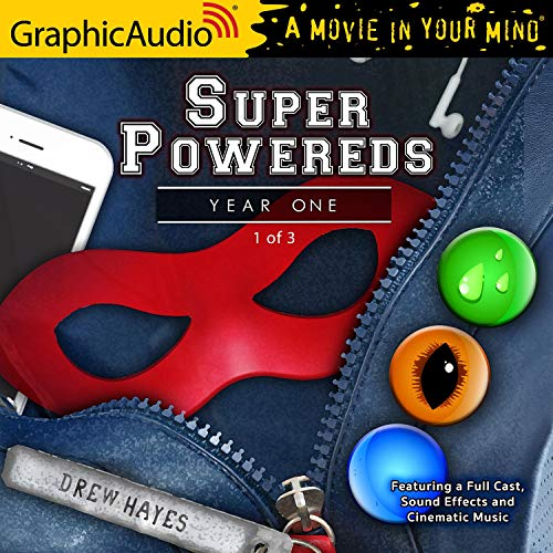 Couverture de Super Powereds: Year One (1 of 3) (Dramatized Adaptation)