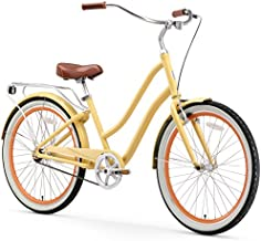 sixthreezero EVRYjourney Women's Single Speed Step-Through Hybrid Cruiser Bicycle, 26