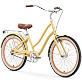 sixthreezero EVRYjourney Women's Single Speed Step-Through Hybrid Cruiser Bicycle, 26' Wheels and...