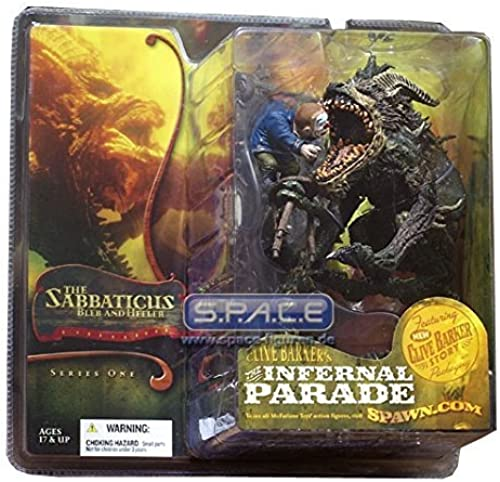 Clive Barkers The Infernal Parade The Sabbaticus Bleb and Heeler Action Figure by McFarlane