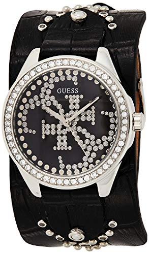 Guess Reloj Analógico para Mujer de Cuarzo con Correa en Piel W1140L1