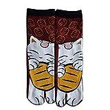 Fancy Pumpkin Calcetines de estilo japonés con sandalias de algodón con punta...