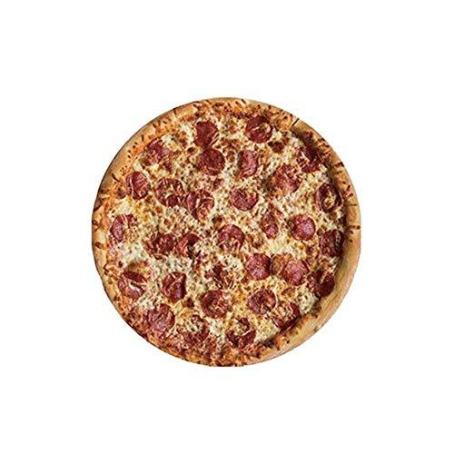 Sgn Anti-Rutsch-Mauspad Matte Flapjack Pizza Kekse Gamer Gaming Mauspad Gummi Schreibtisch Büro Runde Mäuse Matte Pads Für PC Laptop, 02