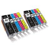 GO Inks C-550/551 Pack de 10
