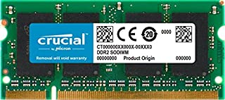 Crucial 2GB Single DDR2 800MHz (PC2-6400) CL6 SODIMM 200-Pin Notebook Memory Module CT25664AC800 (B001342KM8) | Amazon price tracker / tracking, Amazon price history charts, Amazon price watches, Amazon price drop alerts