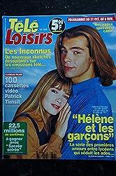 TELE LOISIRS 348 Hélène et le garçons Cover + 4 p. - Les Inconnus - 1992 10