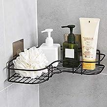petrickenterprise Self Adhesive Multipurpose Kitchen Bathroom Shelf Wall Holder Storage Rack Bathroom Rack Storage Box Str...