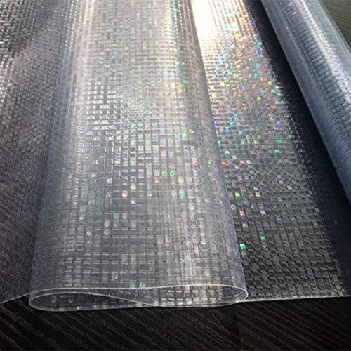 Película de privacidad Opaca de Mosaico 3D película de Vinilo autoadhesiva no Adhesiva esmerilada electrostática de PVC película de decoración de Ventanas para el hogar Q 30x100cm