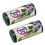 Práctico Bolsa 4008871205100 recicla bolsas de basura con cinta para el cierre...