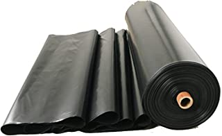 Heavy Duty Pond Liner For Beautify The Pond & Water Garden, Tarp Cover Tear Resistance Waterproof Cutable Fountains Membra...