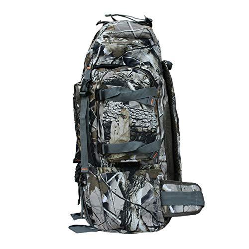 HHUI-HUWAIBAO, 60L 60 * 33 * 20cm Army Men Women Outdoor Military Tactical Camo Backpack Camping Hiking Rifle Bag Trekking Rucksacks Climbing Bags (Color : AS PHOTO, Size : 50 70L)