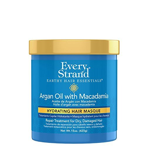 Every Strand Argan Oil Hydrate Hair Masque, 15 Ounce
