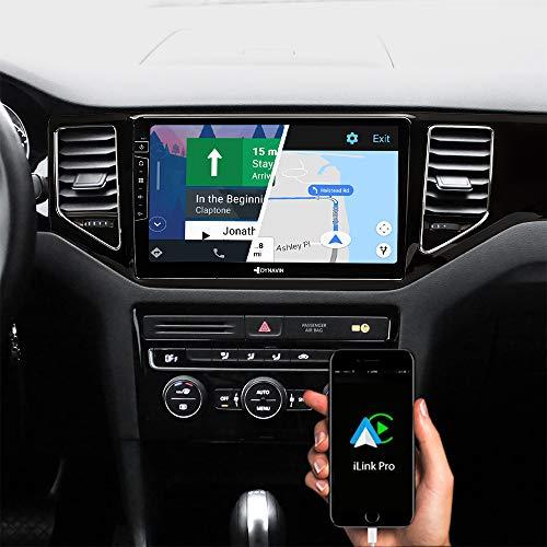 DYNAVIN Autoradio Navi für VW Golf 7 Sportsvan 2012-2020 (Schwarz), 10,1 Zoll OEM Radio mit Carplay und Android Auto, Bluetooth, Inkl. DAB+, USB: DX-V-135B Pro
